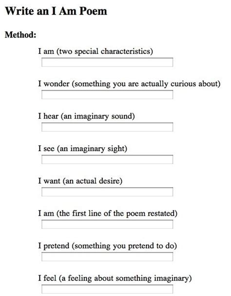 writing a poem template how to write a where i m from poemwritings and papers writings and papers