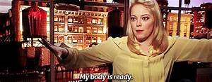 Emma Stone My Body Is Ready GIF - Find & Share on GIPHY