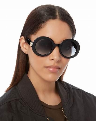 Sunglasses Gucci Round Thick Hi Res Intermixonline