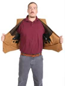 Concealed Carry Holsters Vests