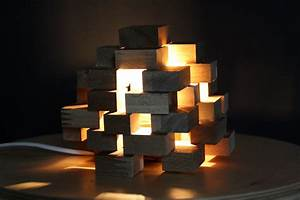 Lampenschirme Für Stehlampen Selber Machen : diy kl tzchen lampe aus holz schereleimpapier diy blog ~ Frokenaadalensverden.com Haus und Dekorationen