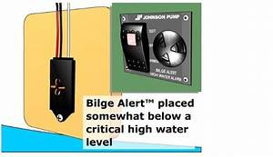 Johnson Pump Bilge Alert 12 Volt High Water Alarm W  Sensor