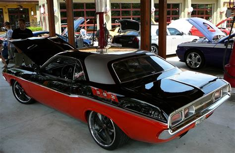 1972 Dodge Challenger Built Live At Sema 2006 By Chip