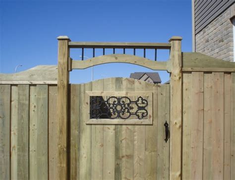 Free Wood Fence Gate Plans