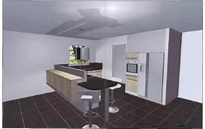 Image modele cuisine en u for Mod le de cuisine en u