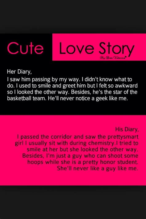 Cute Love Story  Quotes  Pinterest  Love, Cute Love And