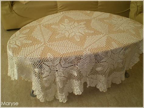 tricoter une nappe de table