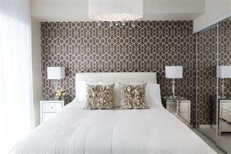 Tapeten Im Schlafzimmer  26 Wohnideen Für Akzentwand