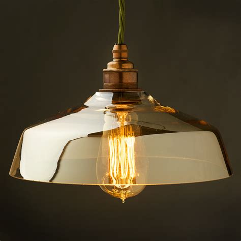 in light globes coffee glass light shade and e27 lholder