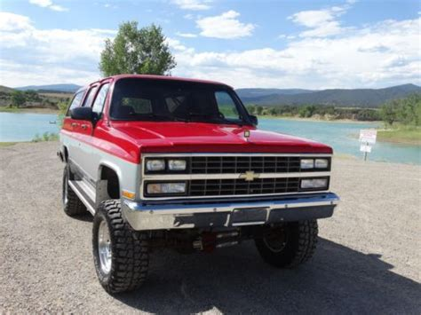 Purchase Used 1991 Chevy Suburban 2500 4x4 Rare!!!! In