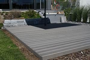 Terrasse Wpc Grau : wpc terrassen gallerie wooden tec deutschland ~ Markanthonyermac.com Haus und Dekorationen