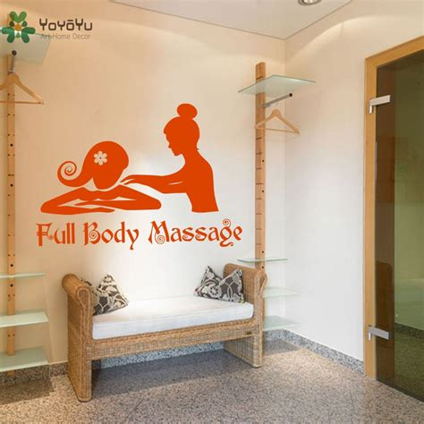5 out of 5 stars (829) 829. Girls Beauty Salon Wall Stickers Quotes Full Body Massage Wall Decal Spa Modern Design Art Mural ...