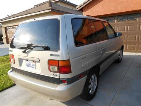 auto air conditioning repair 1997 mazda mpv navigation system find used 1997 mazda mpv es standard passenger van 3 door 3 0l in murrieta california united