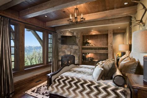 irresistibly warm and cozy rustic bedroom designs