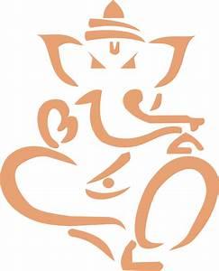Ganpati Logo Outline - ClipArt Best