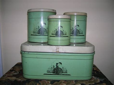 Vintage Kitchen Canisters by 179 Best Vintage Kitchen Canisters Images On