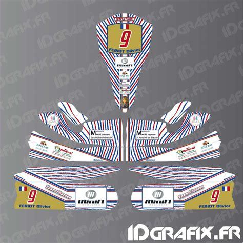 kit deco 100 custom for karting tony kart m4 idgrafix
