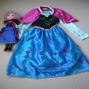 disney store princesse anna robe plush doll age 7 8 With disney store robe princesse