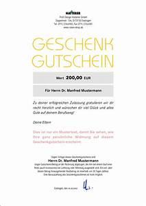 Rechnung Bei Versicherung Einreichen Vorlage : geschenkgutschein f r den kauf einer robe natterer roben shop ~ Themetempest.com Abrechnung