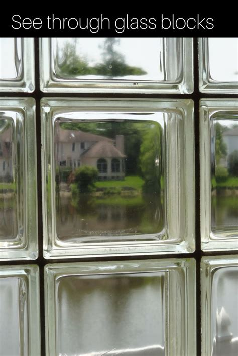 glass block windows images  pinterest glass
