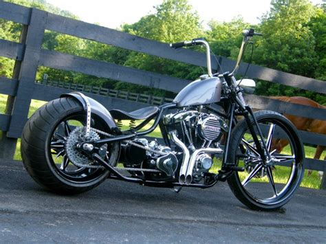 Custom Bobber Fat Tire 300mm Show Winning Pro Hot Rod