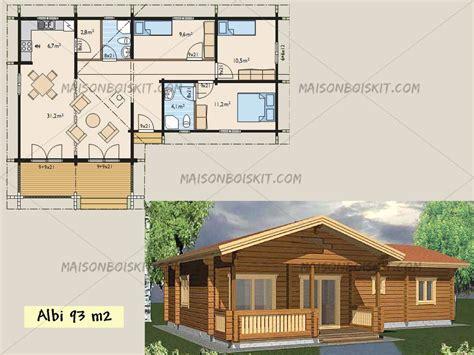 plan cabane en bois habitable
