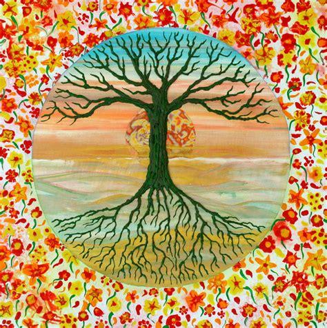 baum des lebens baum des lebens baum des lebens blumen tree of