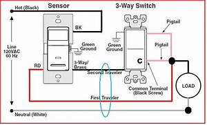 Ceiling Motion Detectors With 3 Way Switch Wiring Diagram Variations