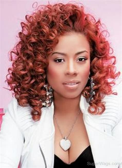 Keyshia Cole Hairstyles by Keyshia Cole Curly Hair Style Wags