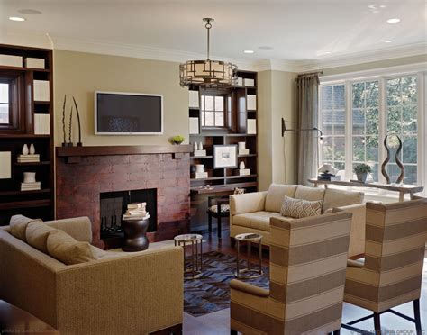 living room ideas with brick fireplace formal living room with brick fireplace and tv for Small