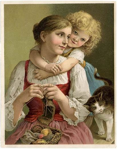 Mothers Knitting Mother Mom Graphics Fairy Joy