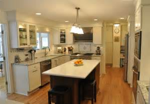 Galley Kitchen With Island Layout Galley Kitchen With Island Layout 847