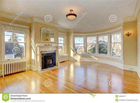 bright empty living room  luxury house stock image image