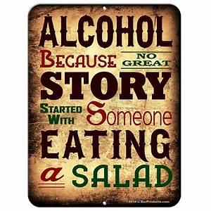 ALCOHOL Kolorcoat™ Metal Bar Sign