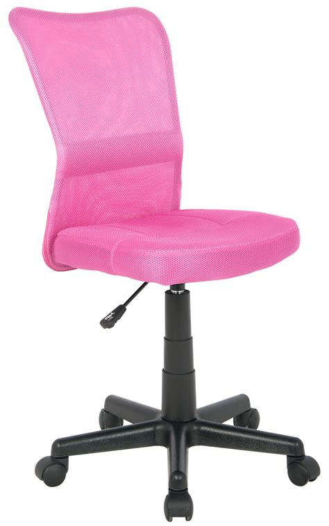 office swivel chair pink h 298f 1412 sixbros