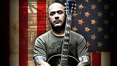 Aaron Lewis Staind Acoustic Town Bald Worth