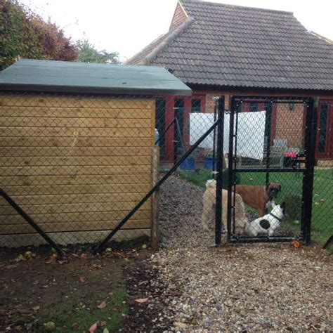 durable fencing chain link fence dog proof fencing clayton s fencing