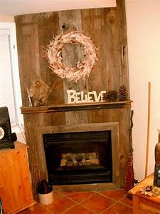 8 best wood plank wall images on pinterest aging wood With barn board mantel