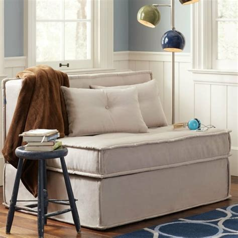 canape gris et blanc le fauteuil convertible parfait pour votre maison