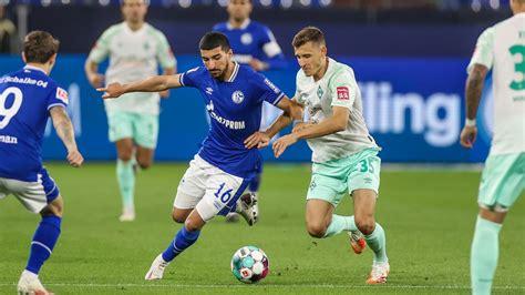 Bundesliga begibt sich der sv werder bremen in der saison 2021/22 gezwungenermaßen auf ungewohntes terrain. 2020/2021   Bundesliga   2 - FC Schalke 04 : SV Werder Bremen - Fußball - Schalke 04