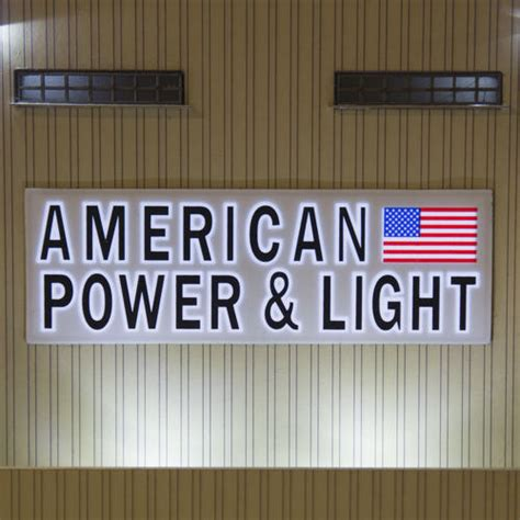 american light and power american power light building from menards o