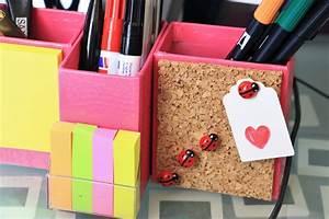 Schreibtisch Organizer Basteln : diy schreibtisch organizer do iteria ~ Eleganceandgraceweddings.com Haus und Dekorationen