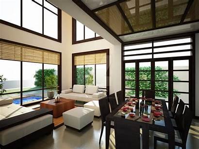 Japanese Living Interior Modern Inspired Asian Deviantart