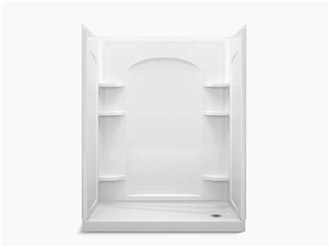 how to clean kitchen sink ensemble series 7217 60 quot x 30 quot x 75 1 4 quot shower stall 7217