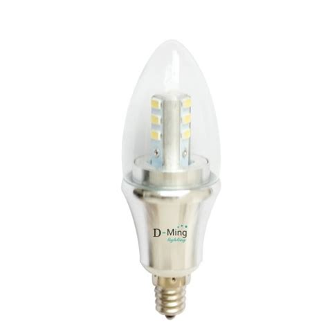 dminglighting 6 pack dimmable e12 led light bulb l 6w