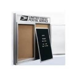 aarco rr3630f removable felt letter panel for enclosed red With removable letter board
