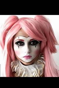 Clown, Joker, mask, doll... Makeup for Halloween by me ...