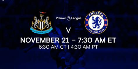Where to Watch Newcastle United vs Chelsea FC Game in USA ...