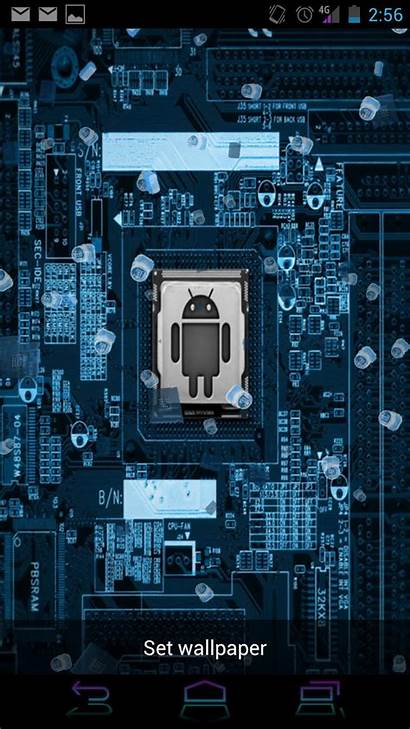 Android Tech Wallpapers Electronic Phone Components Mobile