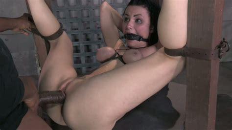 Tightly Bound Brunette Hottie Veruca James Gets Banged In